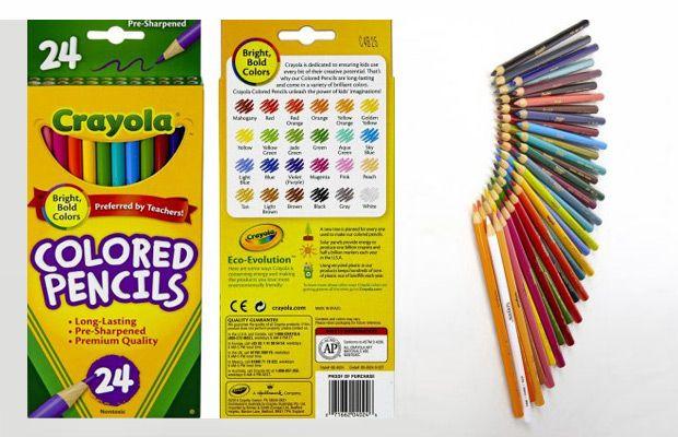 Crayola 24 Count Colored Pencils