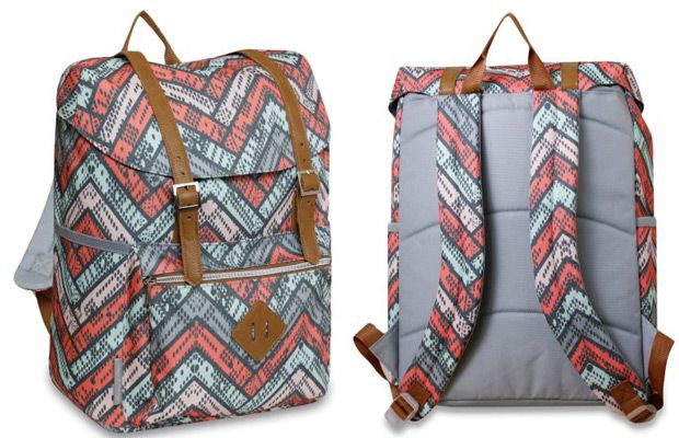 Walmart 17 Inch Double Buckle Flap Backpack