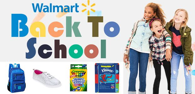 Walmart Back to School Deals 2017