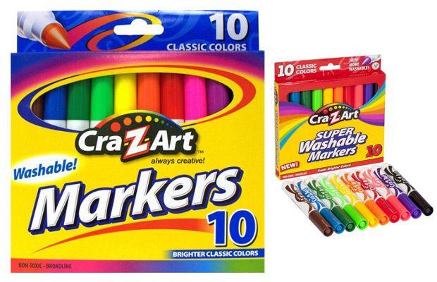 Walmart Cra-Z-Art 10 ct Washable Markers