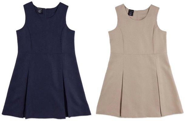 Walmart George Girls' School Uniforms, Empire Waist Jumper