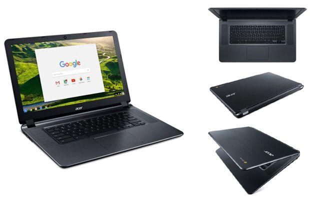Walmart Acer CB3-532-C47C 15.6 Chromebook, Chrome OS, Intel Celeron N3060 Dual-Core Processor Laptop