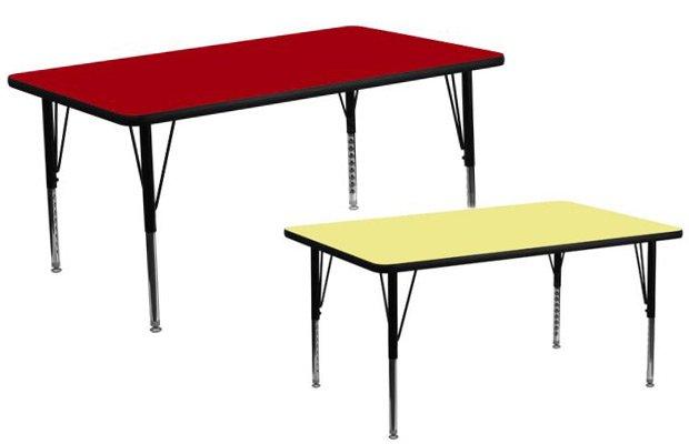 Walmart Flash Furniture 30''W x 60''L Rectangular Activity Table