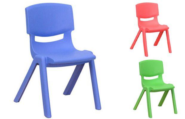 Walmart Flash Furniture Stackable School Chair - 12 in