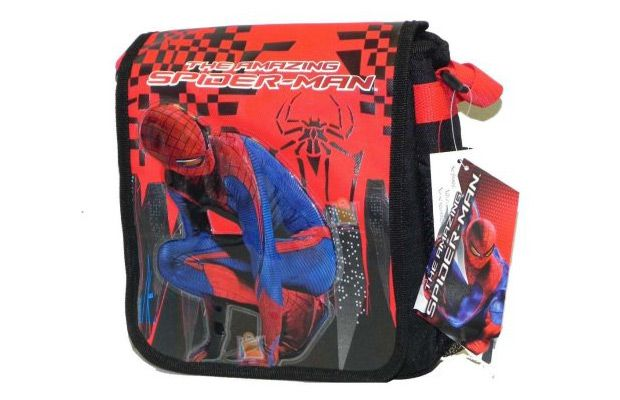 Walmart Lunch Bag - Marvel Spiderman DJ Kit Case New 008283