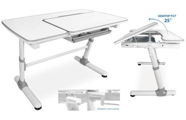Walmart Mount-It Childrens Desk, Kids Ergnomic School Workstation, Height Adjustable - MI-10105