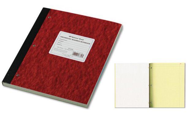 Walmart National Duplicate Lab Notebook, Quadrille Rule