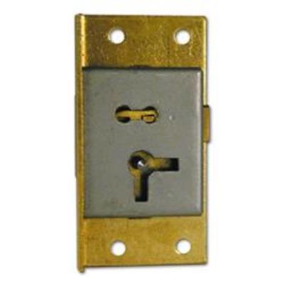 ASEC 20 1 Lever Cut Cupboard Lock - 64mm SB KA LH Visi
