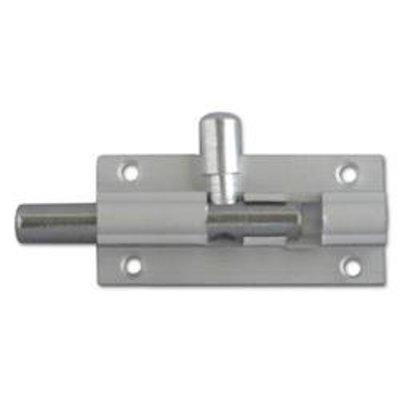 ASEC Aluminium 25mm Wide Straight Barrel Bolt - 50mm Visi