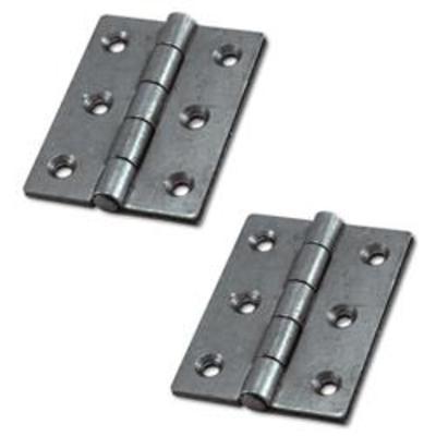 ASEC Double Pressed Steel Butt Hinge - 75mm (1 Pair)
