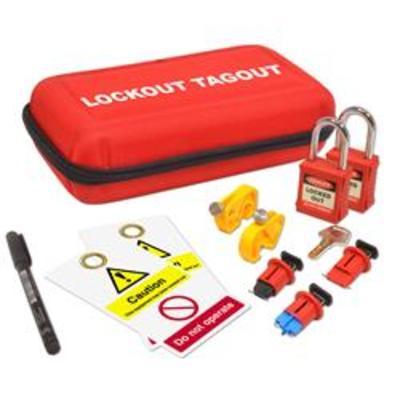 ASEC Electrical Lockout Tagout Kit - Electrical Lockout Kit