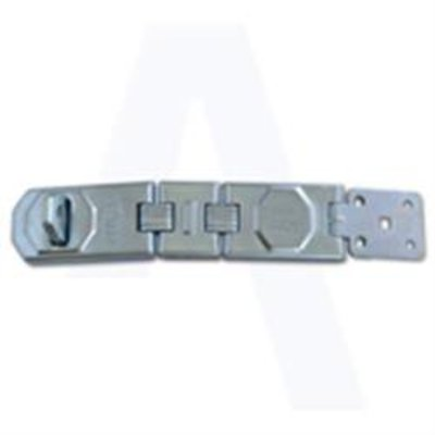 ASEC Galvanised Multi Link Concealed Fixing Hasp & Staple - 115mm GALV