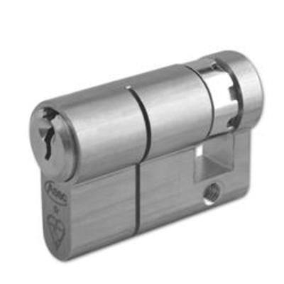 ASEC Kite Euro Half Cylinder - 45mm (35-10) KD NP Visi