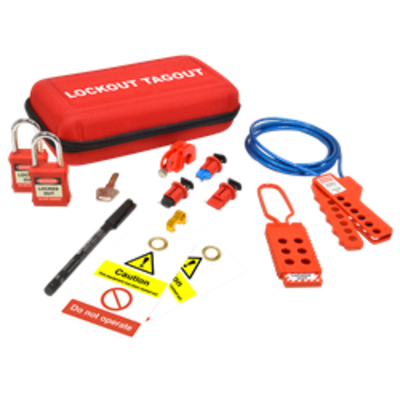 ASEC Maintenance Electrical Lockout Tagout Kit - Maintenance Electrical Lockout Kit