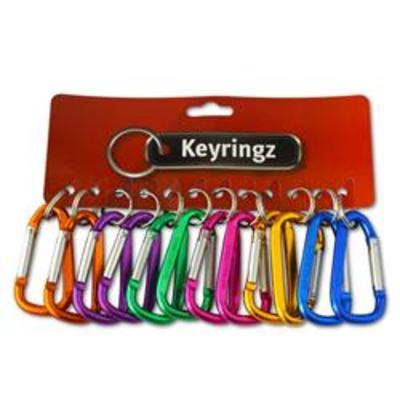 ASEC Metal Carabiner Key Ring - Large
