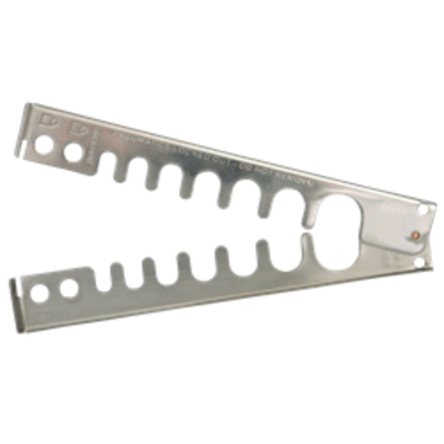 ASEC Pneumatic Lockout Hasp - Solid Stainless Steel