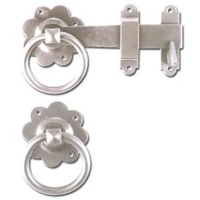 ASEC Ring Gate Latch - Zinc Plated