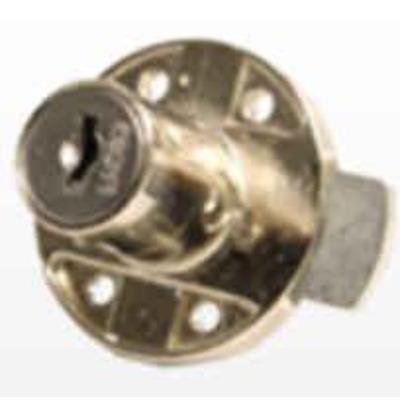 ASEC Round Rim Cupboard Lock - Furniture Lock