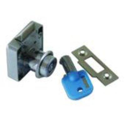 ASEC Spring Bolt Cylinder Till Lock - KA - Tubular Key