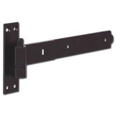 ASEC Straight Band & Hook - Black - 350mm