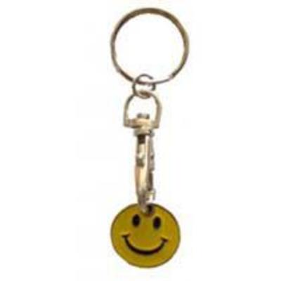 ASEC Trolley Token Key Ring - Smiley Face From £14.34