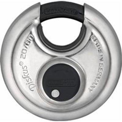 Abus 20 Series Diskus Padlocks 70mm & 80mm Keyed alike - Abus 20-70 KA on key 115565
