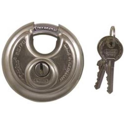 Abus 26 Series Premium Diskus Padlocks Keyed Alike 70mm 80mm & 90mm - Key to differ