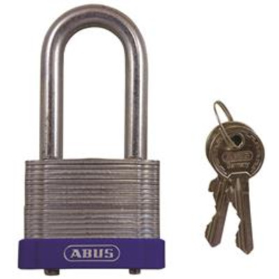 Abus 41 Series Eterna Long Shackle - Key to differ