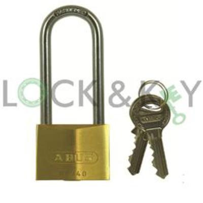 Abus 65 Series Keyed Alike Long Shackle Padlock - Keyed alike on key 407