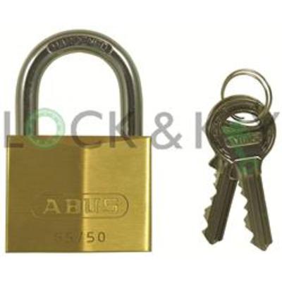 Abus 65 Series Keyed Alike padlocks - Keyed alike on key 6204
