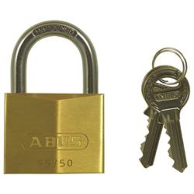 Abus 65 Series Open Shackle Padlock - Keyed to differ