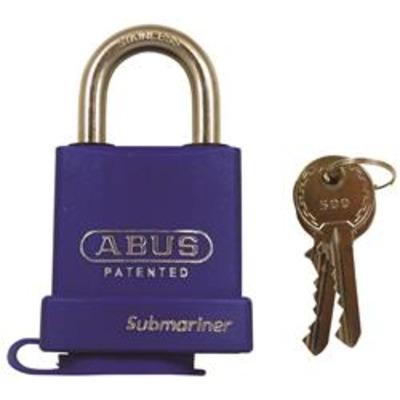 Abus 83WPIB Series Submariner Padlocks - Key to differ