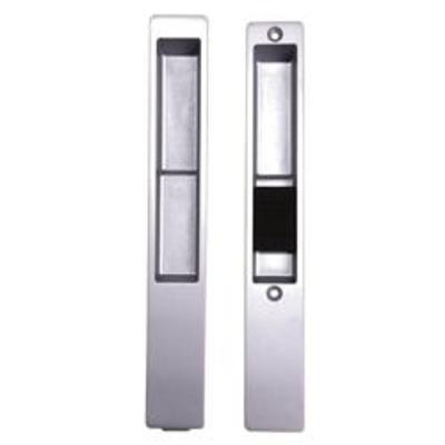 Adams Rite 4189 Non Locking Patio Handle Set - Silver