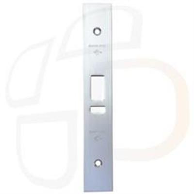Adams Rite MS4720 ANSI Deadlatch Faceplate - Flat faceplate