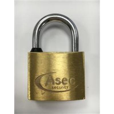 Asec Brass Padlocks Keyed Alike - Keyed Alike