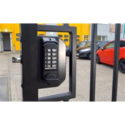 BL3030, Mini Gate Lock with back to back keypads & Concealed code change - Right Hand Without Adaptor kit