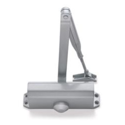 BRITON 121 Size 2 - 4 Overhead Door Closer - Silver (SES) From £49.28