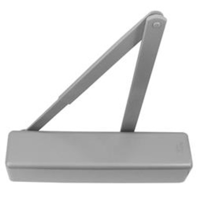 BRITON 2130B DL Size 1 - 6 Overhead Door Closer With Delayed Action - Silver (SES)