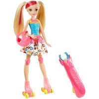 Barbie Video Game Hero Doll Light Up Skates