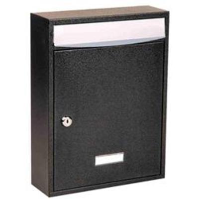 Bologne Residential Steel Postbox - White