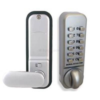 Borg Locks BL2901 Easicode Anti-Ligature Knob, Keypad, Inside handle 60mm Latch - Non-Holdback version