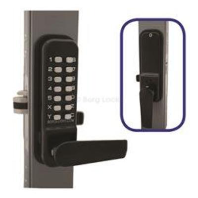 Borg Locks BL4402 Marine Grade Keypad, Inside handle, Ali-Latch - Keypad, inside handle