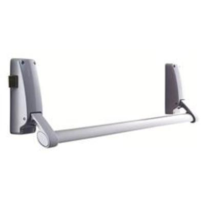Briton 378 Reversible Rim Panic Latch Push Bar - Single wooden door rim panic bar