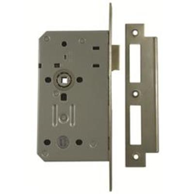 Briton 5430 Bathroom Lock Case - 93mm - Square Faceplate