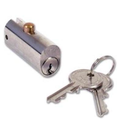 CISA 72010 Filing Cabinet Lock - 44mm NP KD Bagged