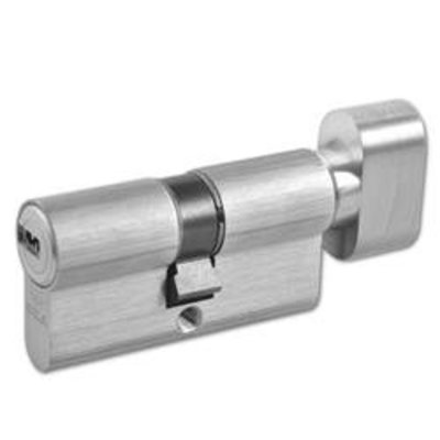 CISA Astral Euro Key & Turn Cylinder - 60mm 30-T30 (25-10-T25) KD NP