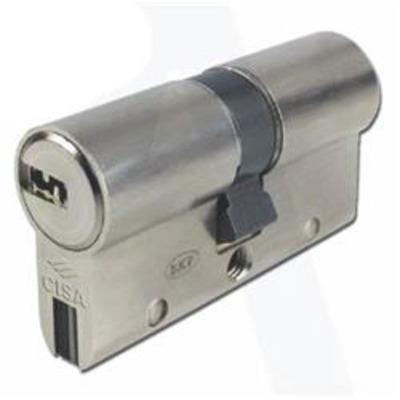 CISA Astral S Anti Snap Euro Cylinder - 30-30 Nickel