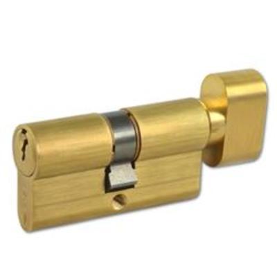 CISA C2000 Euro Key & Turn Cylinder - 60mm 30-T30 (25-10-T25) KD PB
