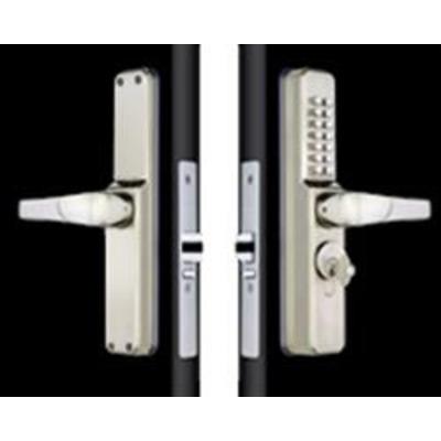 Codelocks CL0460 Narrow Aluminium Door Digital LockFor Screw In Cylinders - Standard version