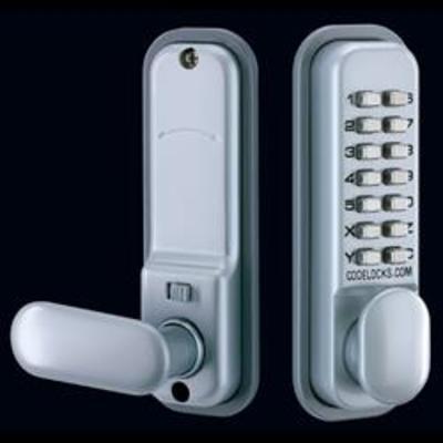 Codelocks CL155 Mortice Latch Digital Lock with Dual Backplate - Mortice latch version